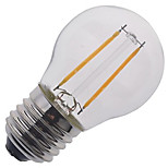 E27 Small Glass LED Filament Bulb for Indoor AC 220V - 240V Warm Bulbble (1 Piece)