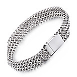 Kalen Men's New 22cm Mesh Bracelet 316L Stainless Steel Jewelry Polished Slight Hand Chain Cheap Accessory Cool Gift