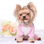 Dog Coat Blue / Pink Dog Clothes Winter Cartoon Cute / Casual/Daily