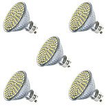 5pcs 80LEDs SMD2835 LED Spotlight GU10/MR16 Cool/Warm White LED Lighting(AC220-240V)