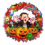 1PC Hallowmas Pumpkins Wall Stickers Decorate  Hallowmas Costume Party