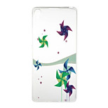 Windmill Pattern High Permeability TPU Material Phone Case for  Xperia XA  Xperia E5