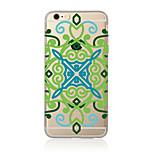 Für Durchscheinend / Muster Hülle Rückseitenabdeckung Hülle Mandala Weich TPU AppleiPhone 7 plus / iPhone 7 / iPhone 6s Plus/6 Plus /