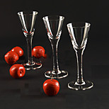 6PC Slap-Up Creative Roses Glass Red Wine Glassware Champagne Glass