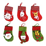 1PC Santa Claus Christmas Gift Bag Christmas Gift Christmas Gift(Random Color)