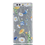 For Huawei P9 P9 Lite P8 Lite Chrysanthemum Pattern High Permeability TPU Material Phone Case
