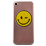 Smiling Face Pattern High Permeability TPU Material For iPhone 7 7Plus 6S 6Plus