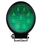 BOORIN A Fil   Green vert led  light led spot 27w lampe Noir
