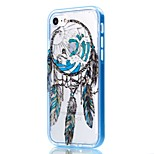 For iPhone 7 Case / iPhone 6 Case / iPhone 5 Case Transparent / Pattern Case Back Cover Case Dream Catcher Soft TPU AppleiPhone 7 Plus /