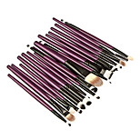 20 Makeup Brushes Set Synthetic Hair Professional / Portable Wood Face / Eye / Lip 4#