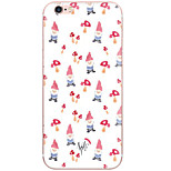 Cartoon Christmas Pattern PC Hard Back Cover Case For Apple iPhone 7 Plus iPhone 7 iPhone 6s Plus 6 Plus iPhone 6s 6 iPhone SE 5s 5