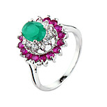 Colorful Cz Diamond Ring  Party Jewelry finger Rings For Women Bijoux Cute Gift rings