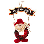 Santa Claus Door Ornament