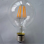 G80 6W LED Energy Saving Retro Decorative Imitation Tungsten Lamp