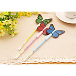 Lovely Butterfly Shape Neutral Pen(12PCS)