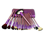 22 Makeup Brushes Set Synthetic Hair Professional / Portable Wood Face/Eye / Lip