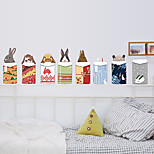Merry Christmas Creative DIY Rabbits Wall Stickers PVC Environmental Living Room Wall Decals