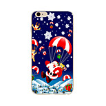 Pour Coque iPhone 7 / Coque iPhone 6 / Coque iPhone 5 Motif Coque Coque Arrière Coque Noël Flexible TPU AppleiPhone 7 Plus / iPhone 7 /