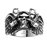 Ring Jewelry Steel Skull / Skeleton Fashion Silver Jewelry Halloween Daily Casual 1pc