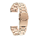 20mm Luxury Five Bead Watch Band Strap Metal Clasp For Samsung Galaxy Gear S2 Classic