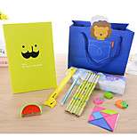 Cartoon Children Student Stationery Combination Set