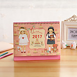 Cute Doll Program This Calendar Notepad
