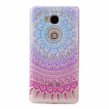 For Huawei Case Ultra-thin / Pattern Case Back Cover Case Color Gradient Soft TPU Huawei Huawei Y635 / Huawei Honor 5X