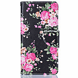 Peony Pattern Leather PU Leather Material Leather Phone Case for  Huawei P9 P9 Lite  Y5II  Y6II 5A