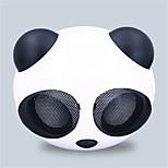 panda bonito mini-subwoofer alto-falante de áudio do carro dos desenhos animados