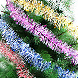 Lenght 2 M Christmas Rribbon 2m Wool Tops Garland Christmas Tree Decoration Ribbon Encryption