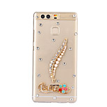 DIY Feather Pattern PC Hard Case for Huawei P9 Plus LITE P8 LITE Honor 8 7 6 6Plus 5C 5X 4X 4C 4A Mate8 7