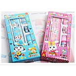 New South Korean Cartoon Children'S Stationery 5 Sets