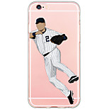 Baseball Star Pattern Cartoon PC Hard Case For Apple iPhone 6s Plus 6 Plus iPhone 6s 6 iPhone SE 5s 5
