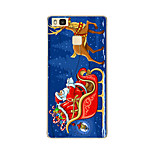 For Huawei P9 P9 lite P8 P8 lite Santa Claus TPU Soft Case Cover