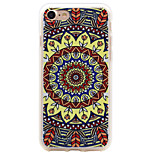 Sunflower Pattern Thickening TPU Frosted Embossment Craft Soft Phone Shell for iPhone 7 Plus 7