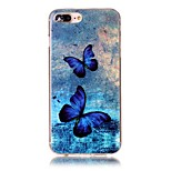 Butterfly Pattern HD Painted TPU Material Phone Shell For iPhone 7 7 Plus 6s 6 Plus