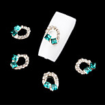 Nail Alloy Jewelry Set Auger Shiny  5Pcs