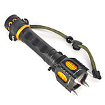 Luci Torce LED / Torce LED 2500 Lumens 1 Modo Cree XM-L T6 18650 UltraleggeroCampeggio/Escursionismo/Speleologia / Caccia / Viaggi /