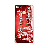 For Huawei P9 P9 lite P8 P8 lite Christmas tree TPU Soft Case Cover