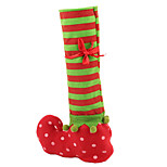 Christmas Stocking Red Wine Bottle Cover Bags Christmas Gift Bag Dinner Table Decoration Home Party Xmas Decors