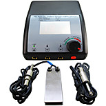 Solong Tattoo Double Output Digital Tattoo Power Supply  Foot Pedal  Clip Cord Kit P102