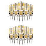 10PCS G4  48LED SMD3014 140-160LM AC110V/220V Warm White/White/Natural White Decorative / Waterproof LED Bi-pin Lights