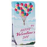 Balloon Pattern Painting PU Material Phone Cover For LG LG K10 K8 K7
