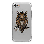 Black Owl TPU Case For Iphone 7 7Plus 6S/6  6Plus/6S Plus