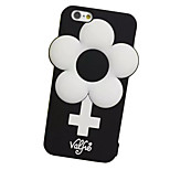 For iPhone 7 Case / iPhone 7 Plus Case / iPhone 6 Case Shockproof Case Full Body Case Flower Soft Silicone AppleiPhone 7 Plus / iPhone 7