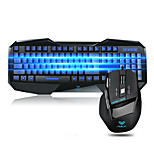 AULA Gaming mouse keyboard comb Programmable Ergonomic multimedia backlit