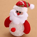 precioso muñeco de Santa Claus llevó la luz de la noche de la muñeca escritorio pendiente del árbol de navidad decoración de mesa de luz