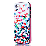For iPhone 7 Case / iPhone 7 Plus Case Shockproof / Pattern Case Back Cover Case Heart Soft TPU Apple iPhone 7 Plus / iPhone 7