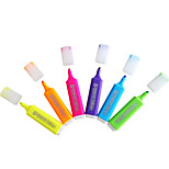 Special Color Fluorescent Marker For 6 Color Learning Mark(6PCS)