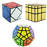 Shengshou® Smooth Speed Cube Alien / Megaminx / Skewb Professional Level Stress Relievers / Magic Cube Silver / Gold Smooth Sticker /
